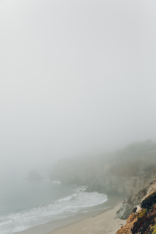 Big Sur Drive Route 1 California in the Mist