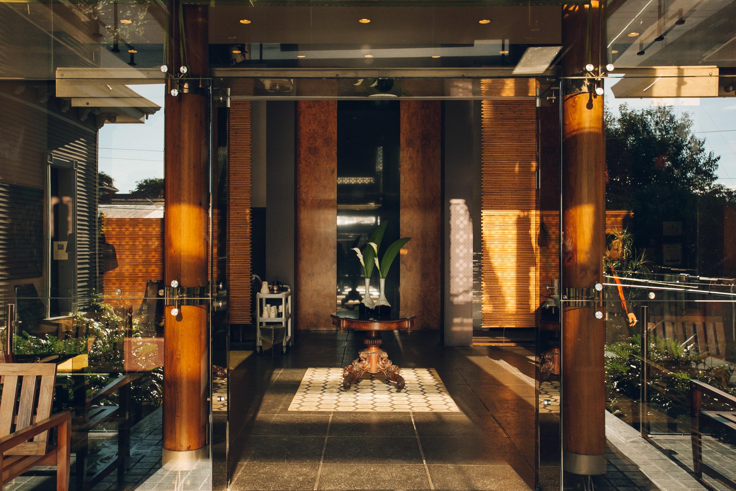 hotel grano de oro costa rica front entrance