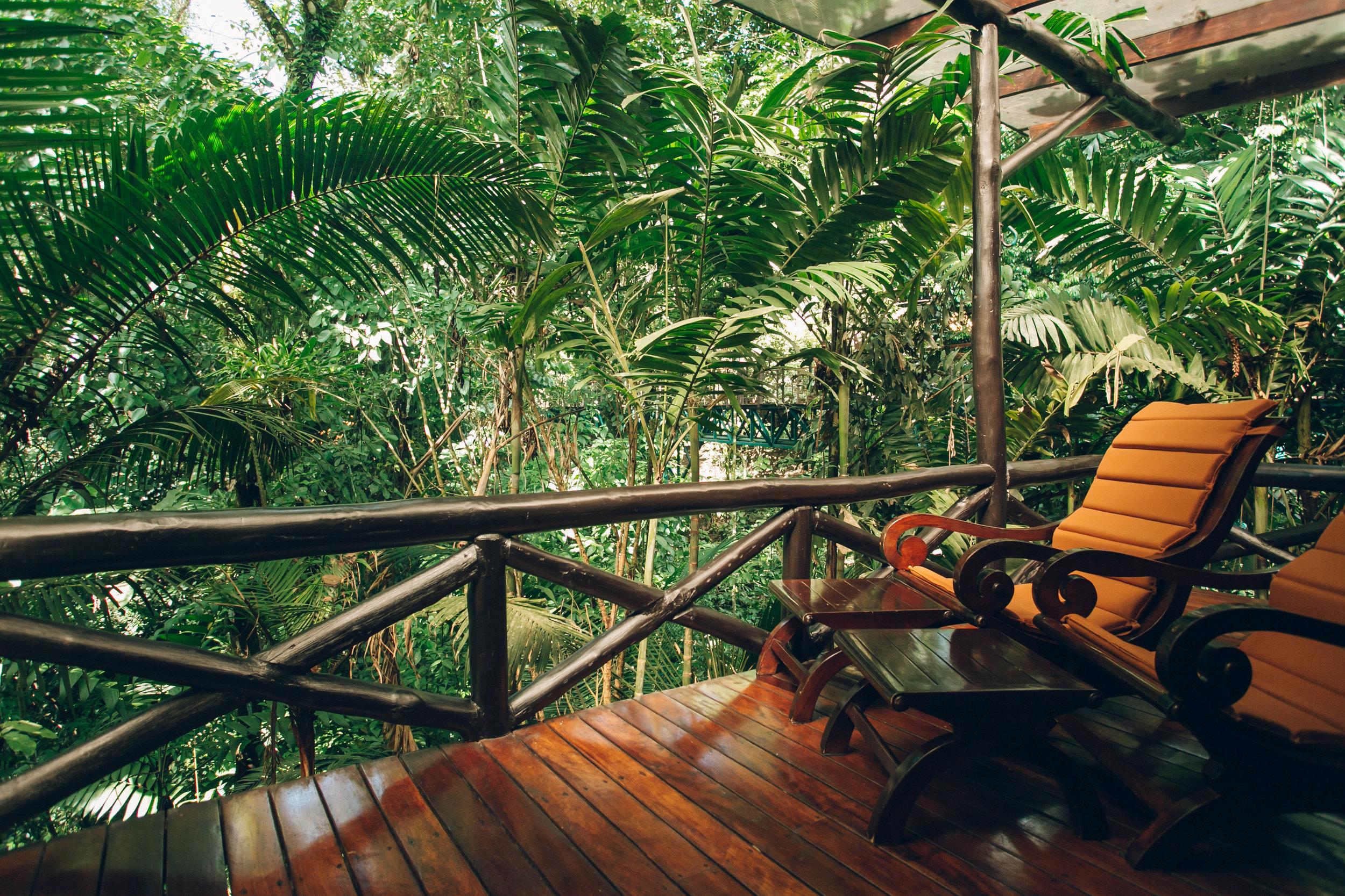 Nayara Hotel La Fortuna Costa Rica Balcony