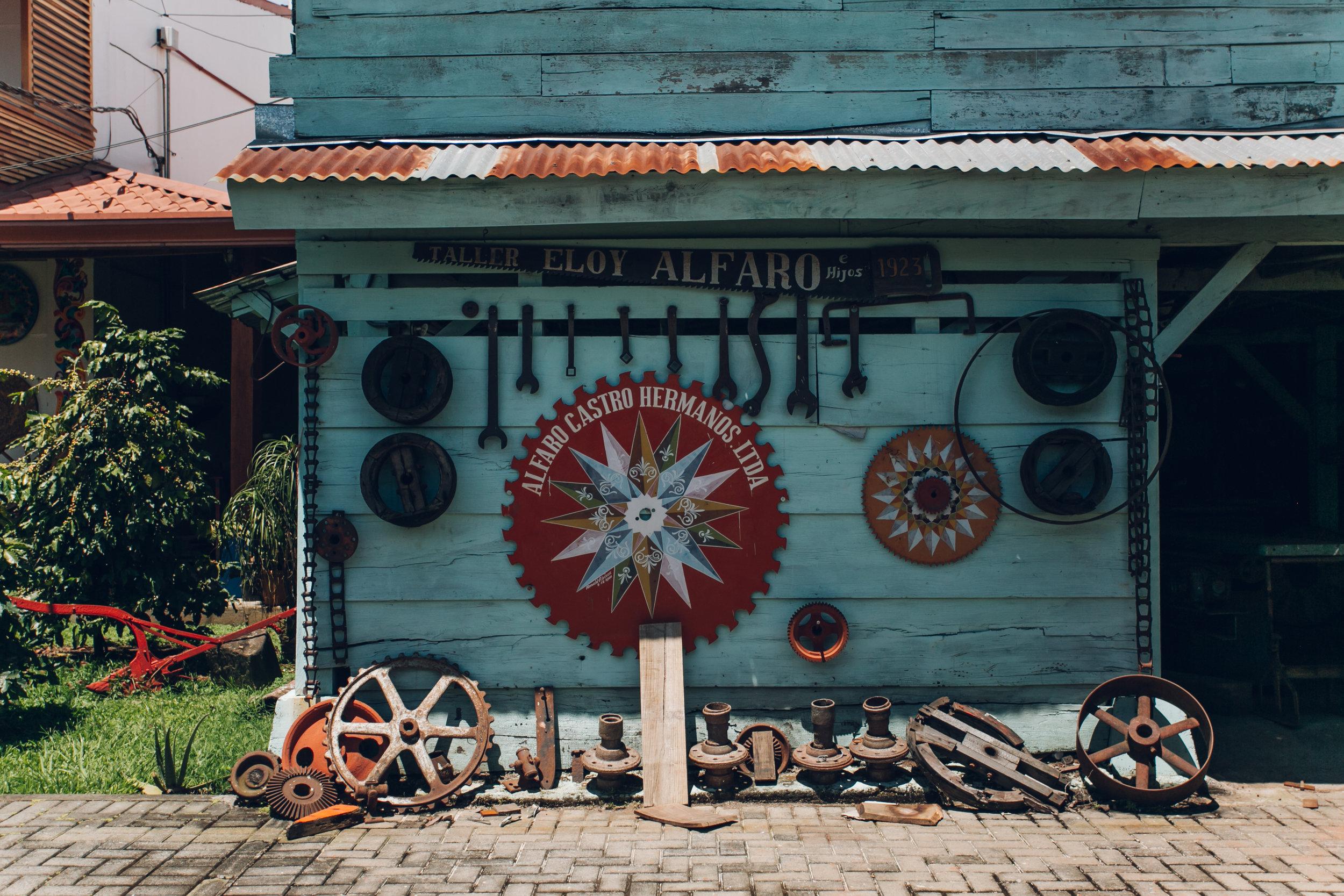 Sarchi ox carts