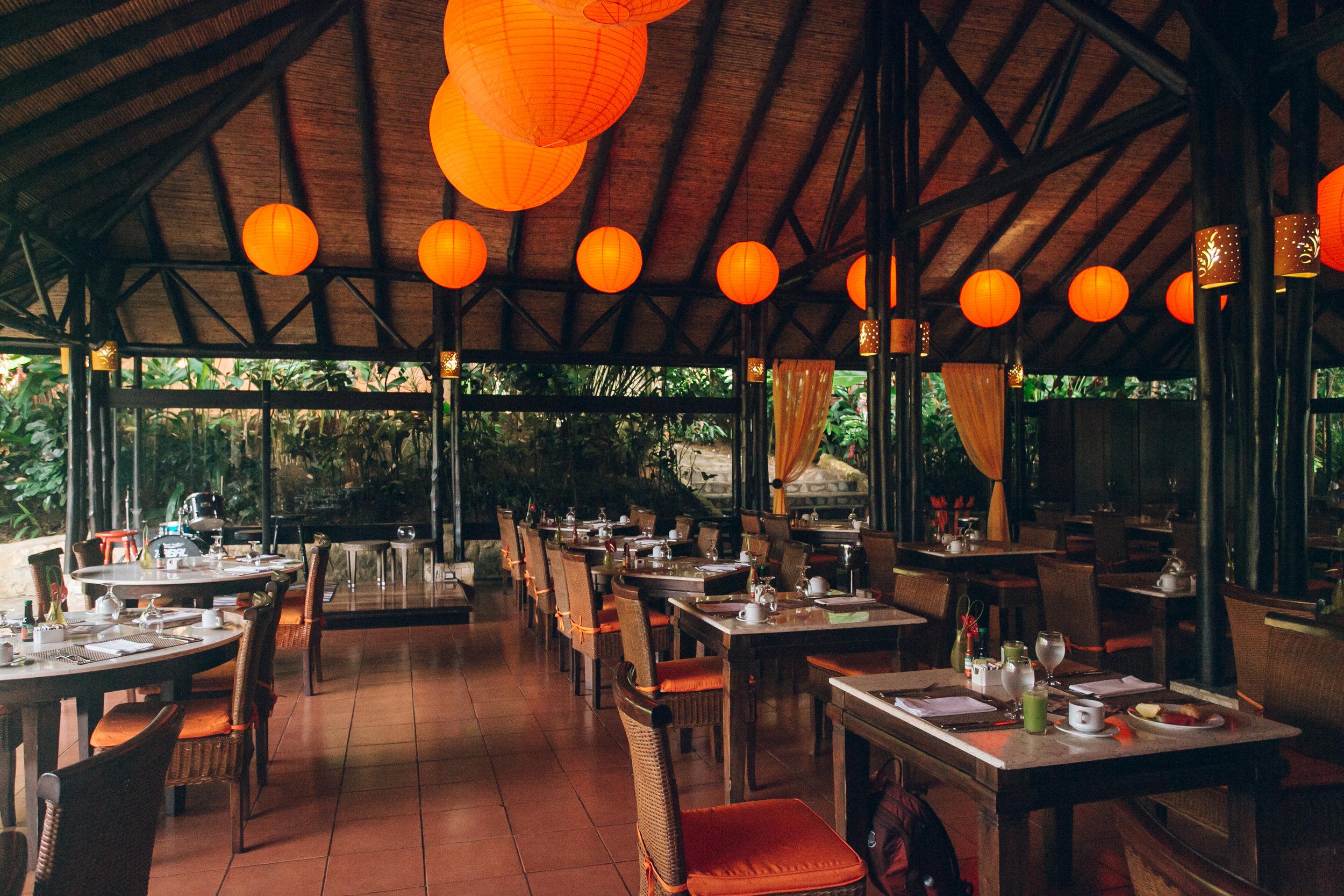 Nayara Resort Spa and Gardens, Arenal. Costa Rica.