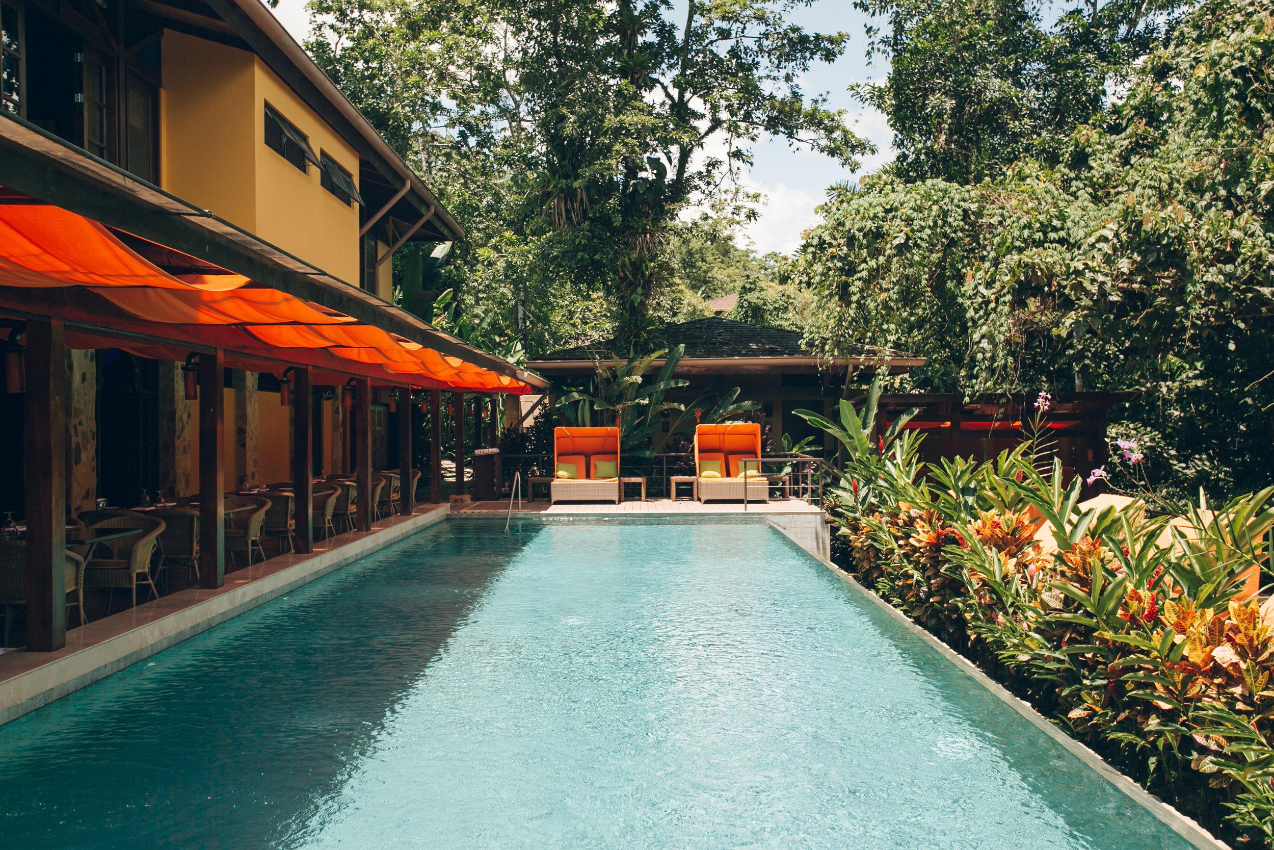 Nayara Resort Spa and Gardens, Arenal, Costa Rica.