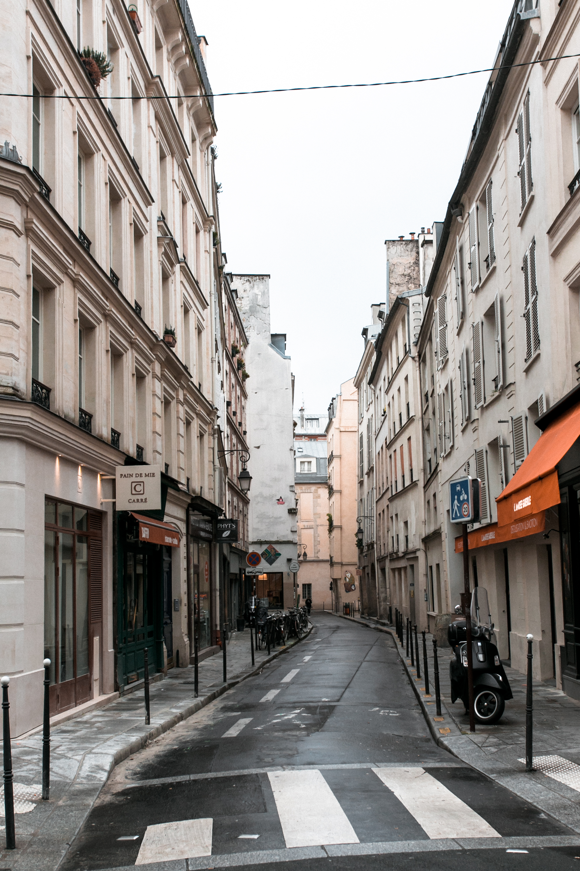 Paris in the Winter by Haarkon. Wandering the Marais.