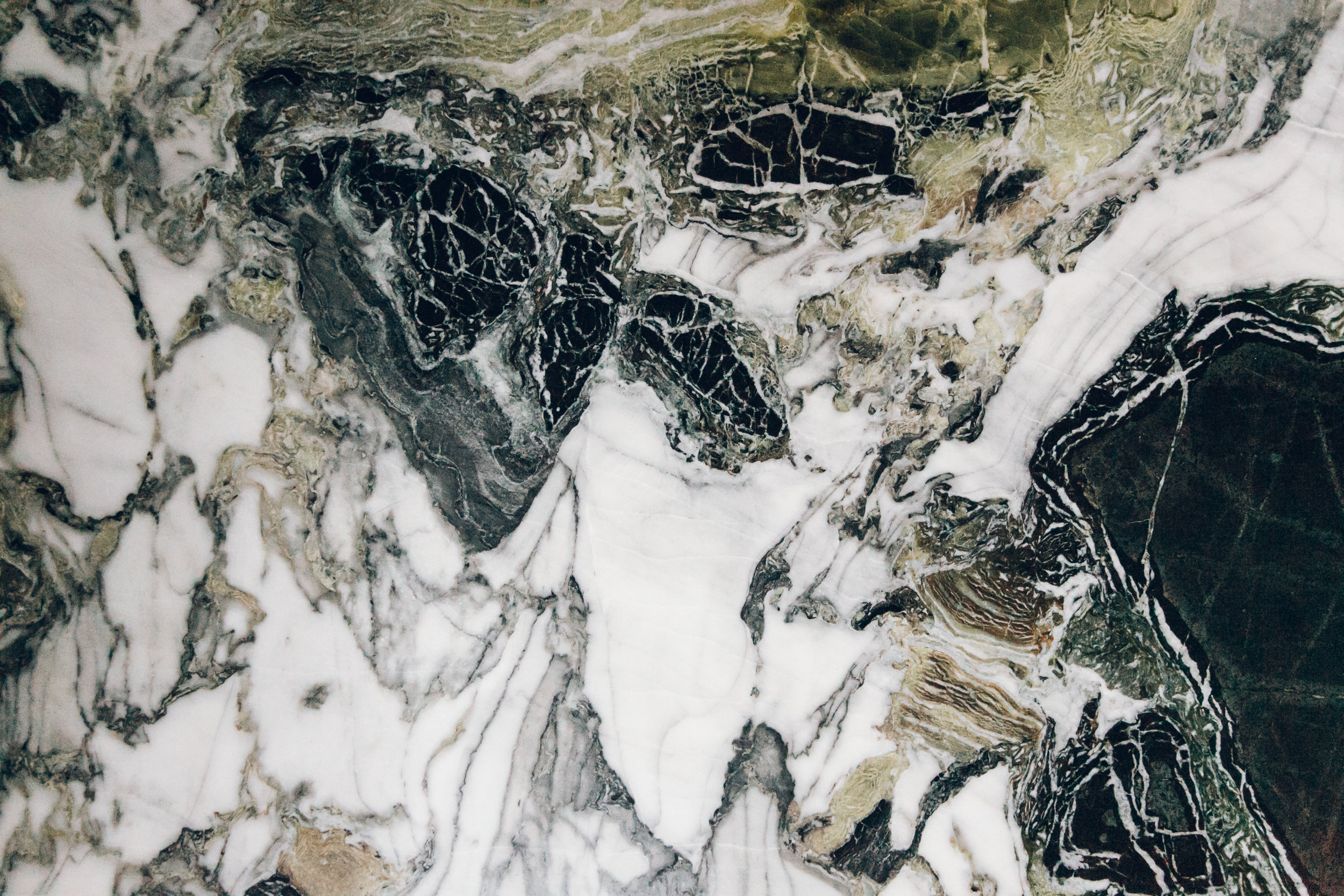 Paris in the Winter by Haarkon and Airbnb. Marble details.