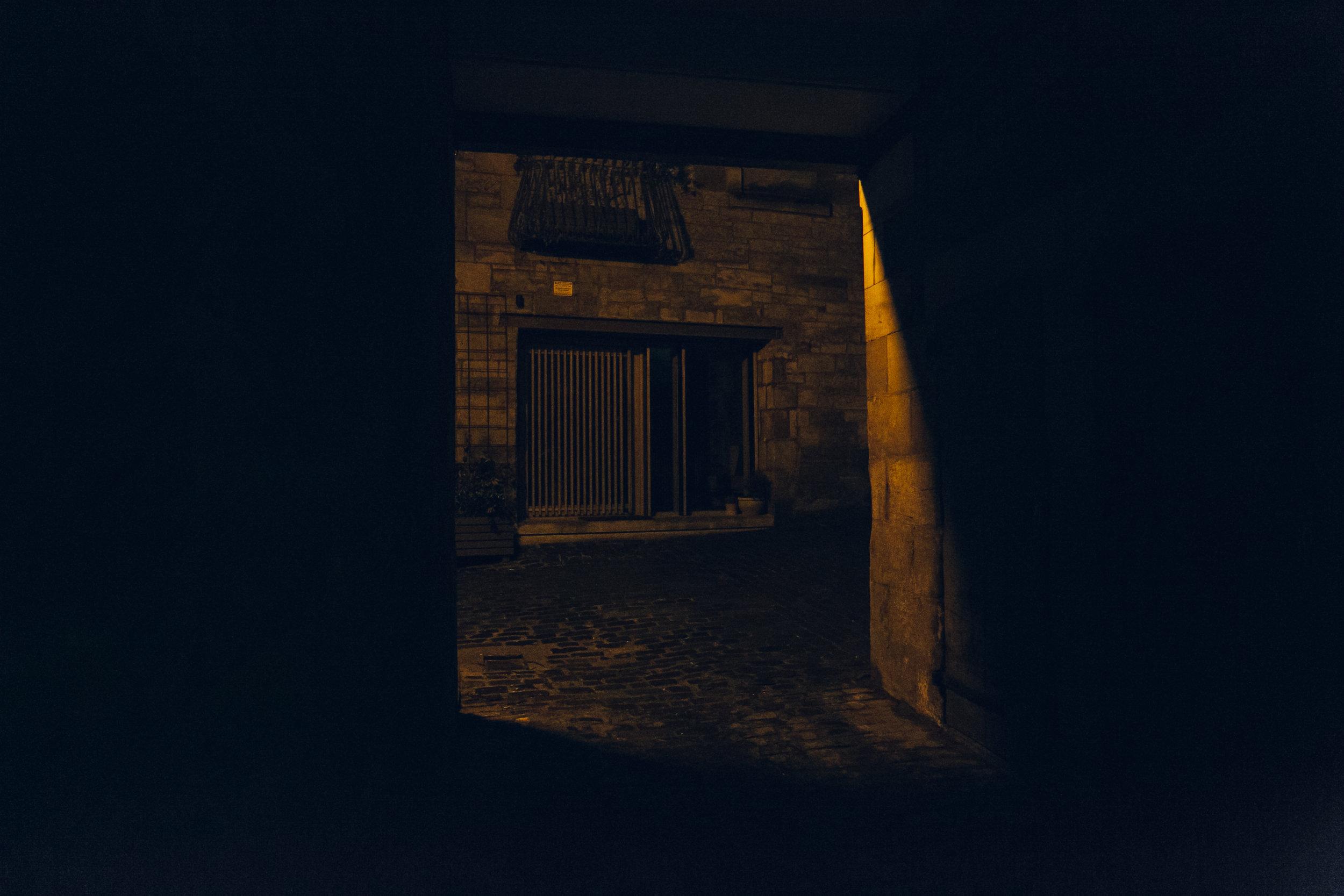 Porteous' Studio in Edinburgh, photographed by Haarkon