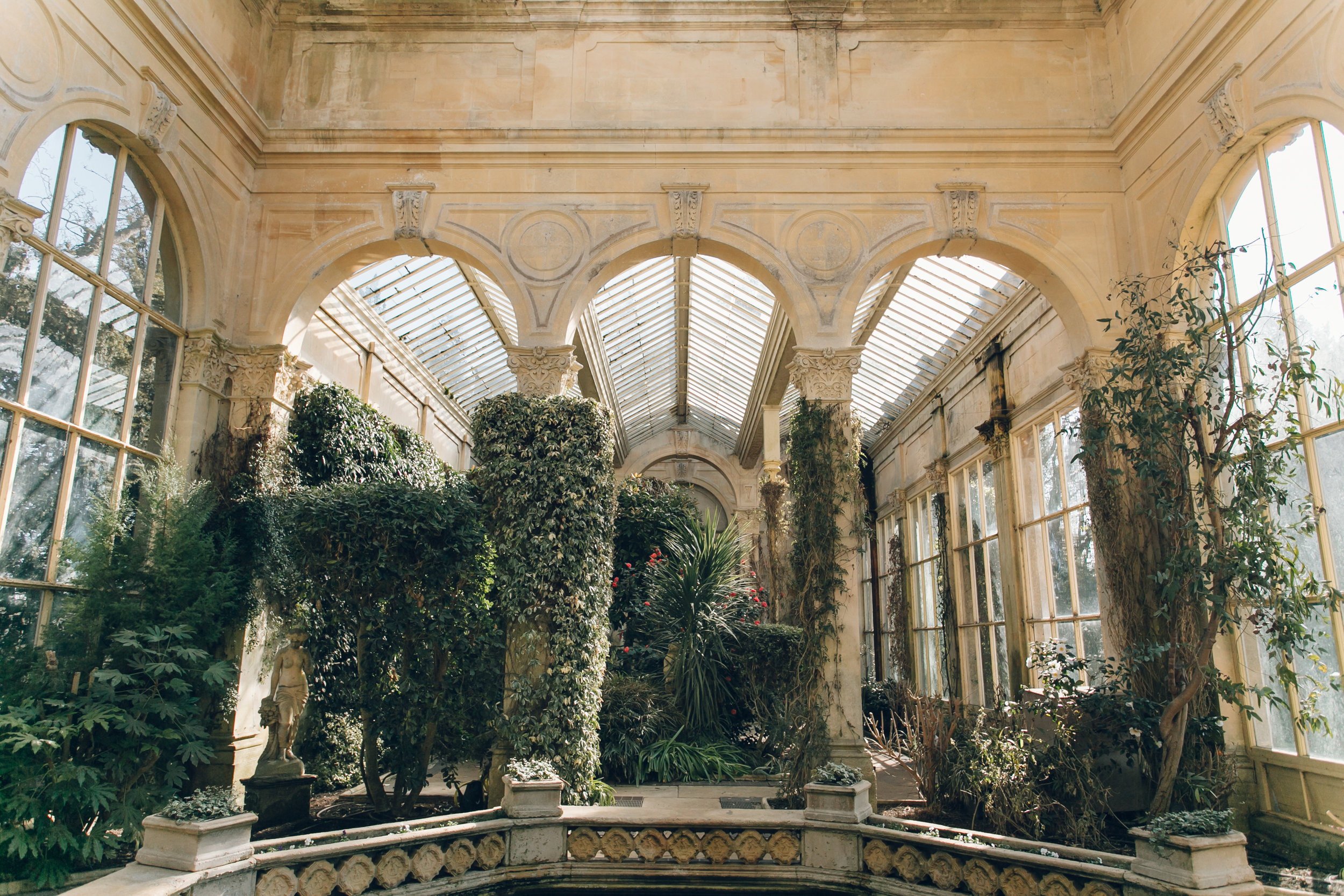Castle Ashby orangery, photographed by Haarkon