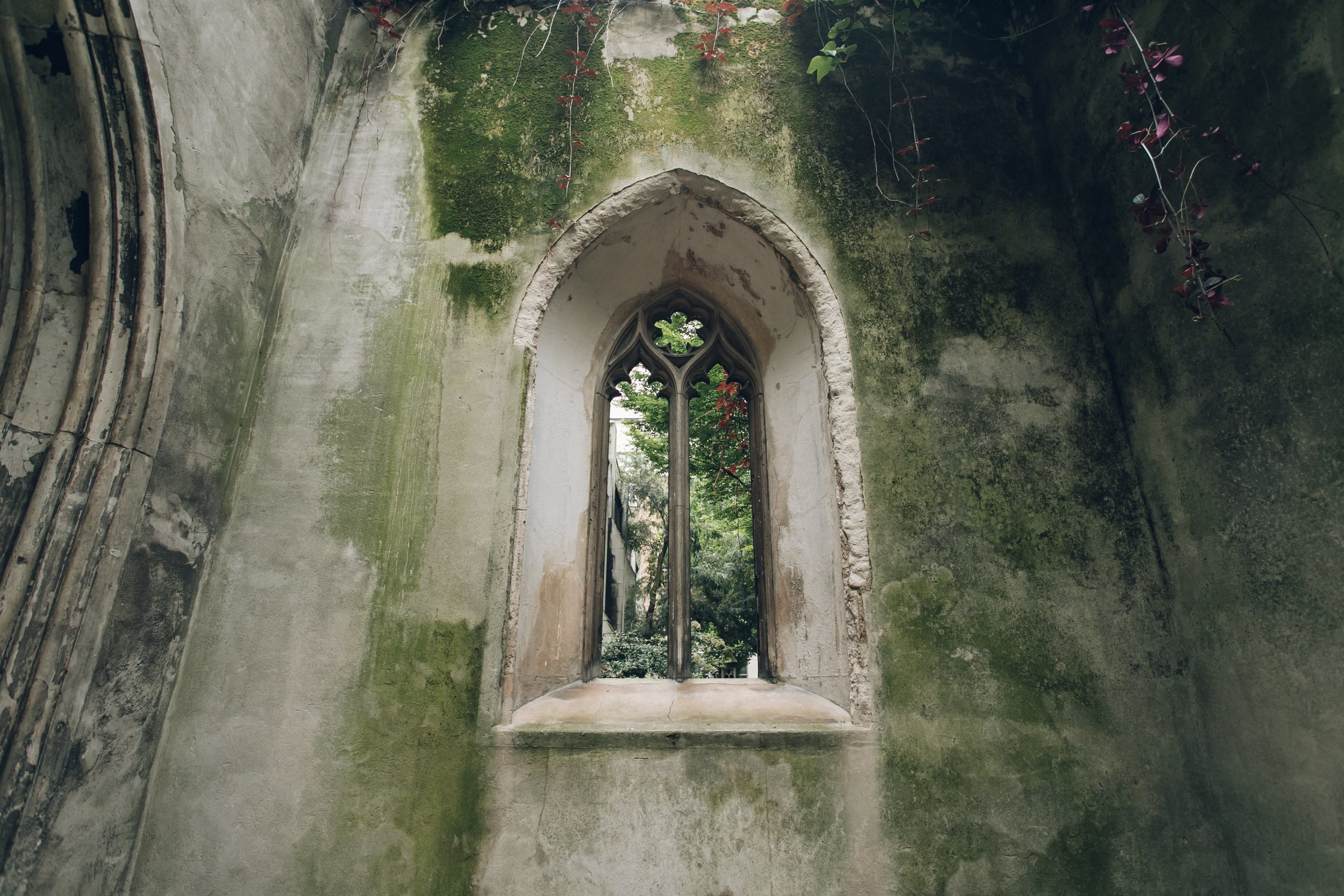 St Dunstan in the East in London photographed by Haarkon