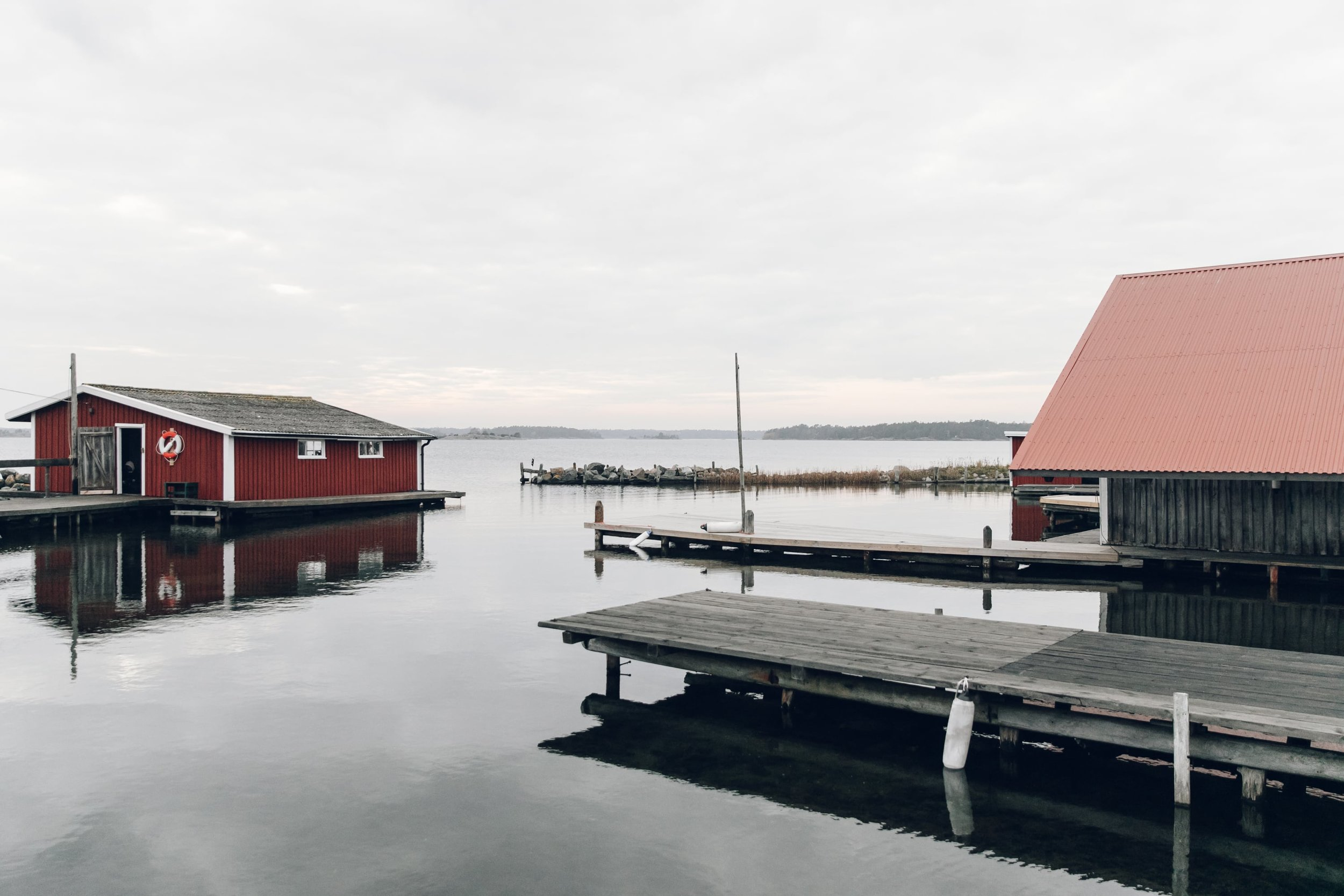 Hasselö and Sladö in Västervik in Sweden by Haarkon