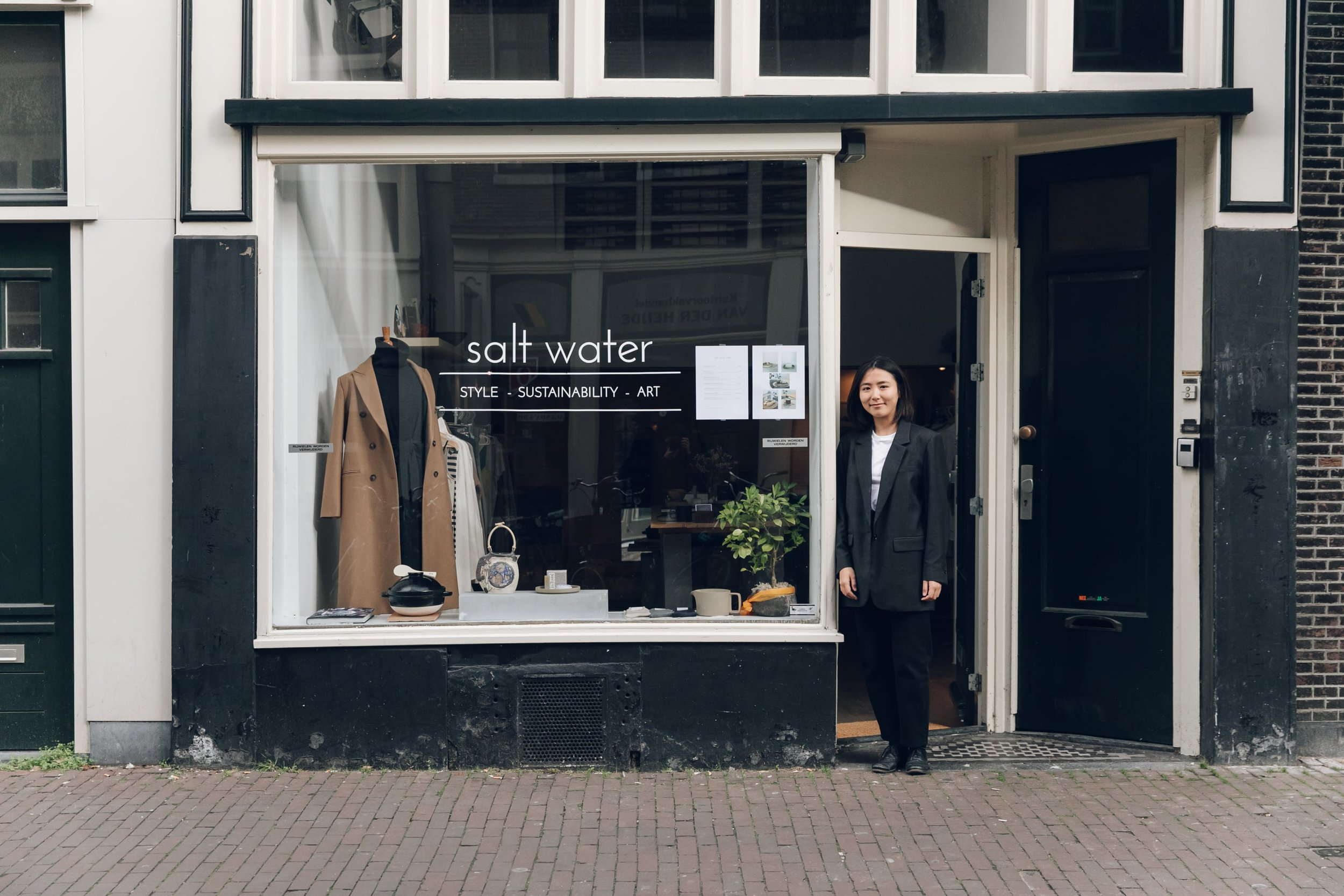 Salt Water in Amsterdam, photographed by Haarkon for Trouva