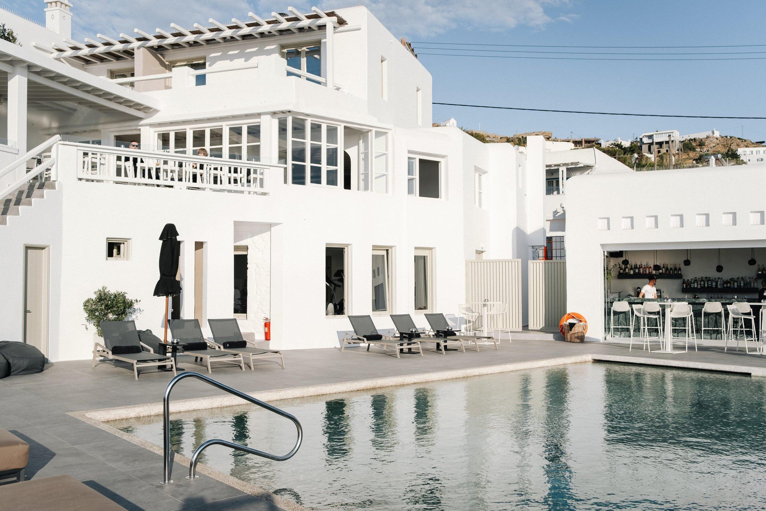 Hotel Rochari in Mykonos, Greece