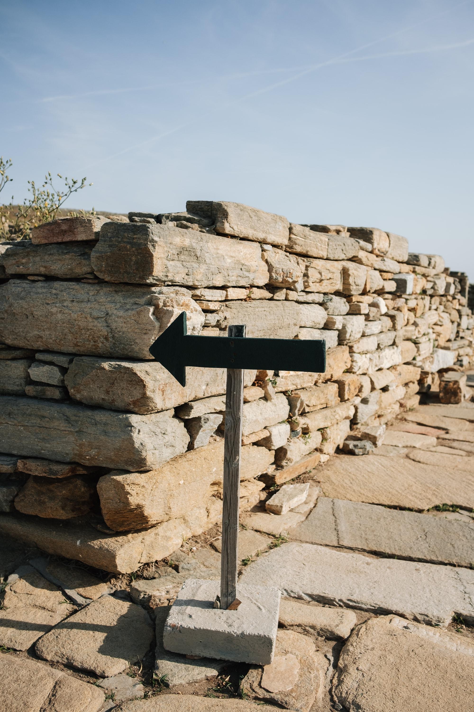 SIGHT on Delos by Antony Gormley and NEON Greece. Image: Haarkon