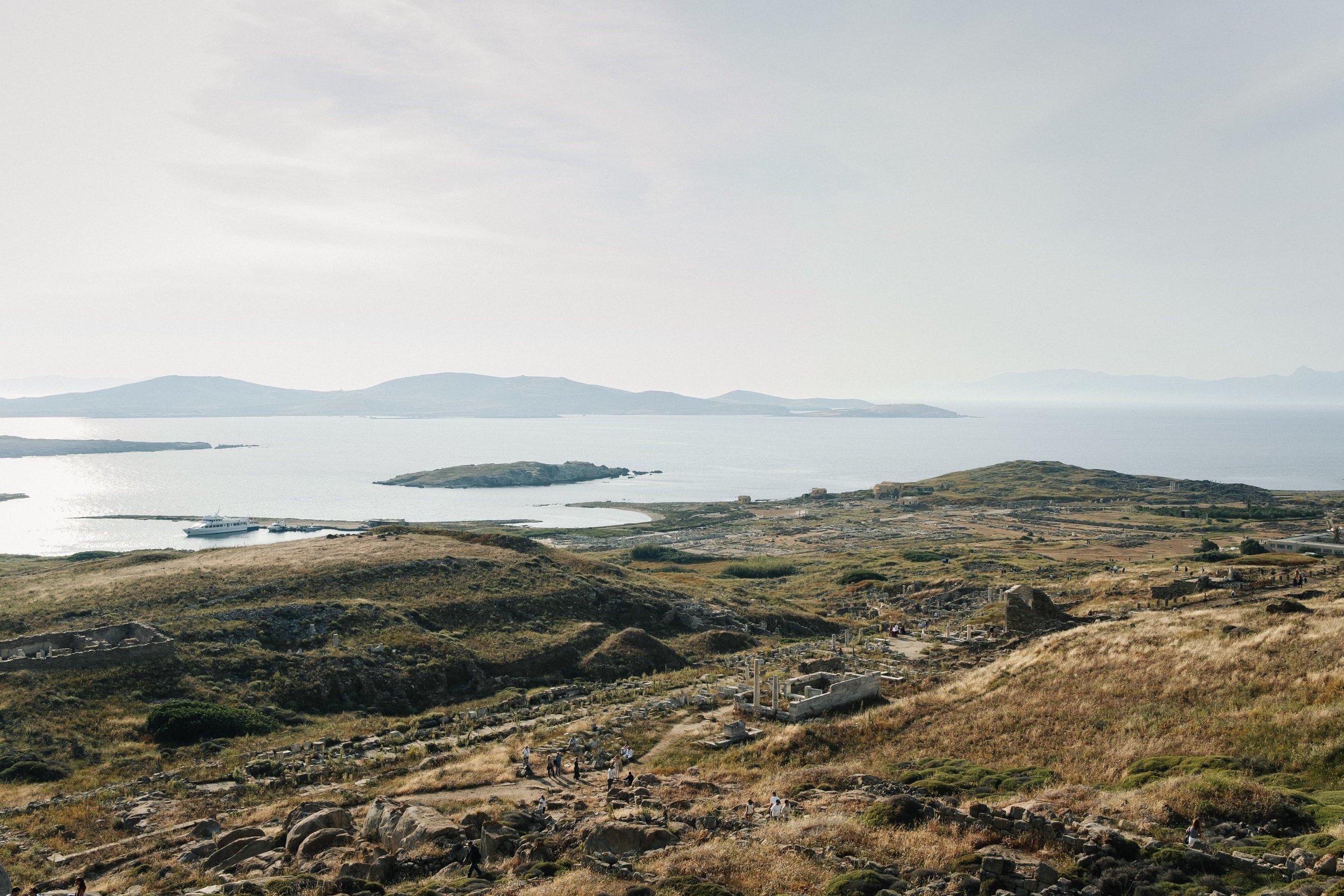 SIGHT - Antony Gormley on the Greek Island of Delos with NEON Greece —  Haarkon