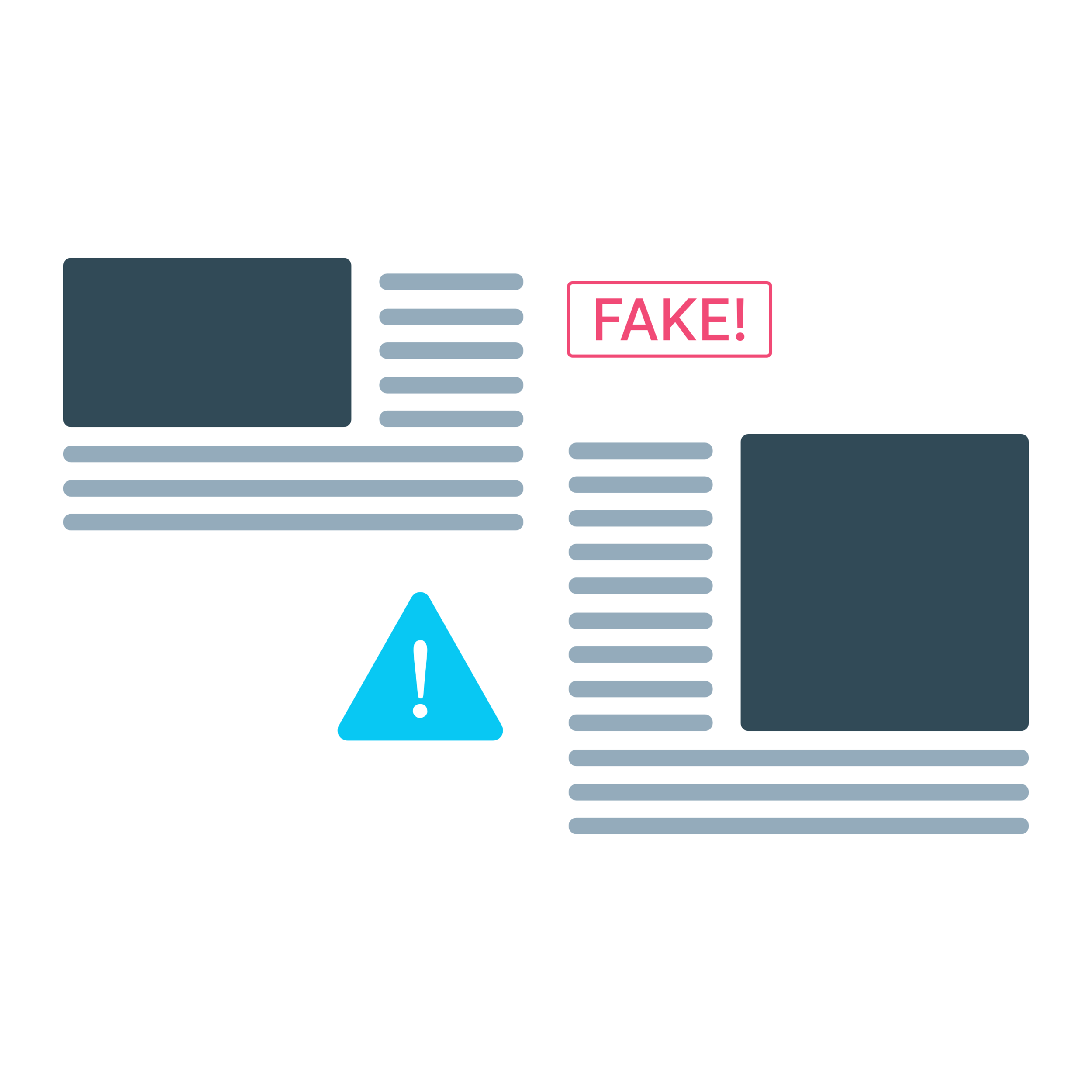 Fake news, scammers, and filter bubbles - Another phenomenon that Facebook has been at the core of is the spread of fake news, propaganda, malicious viral content, and the formation of steep filter bubbles formed around confirmation bias because of bad algorithms.