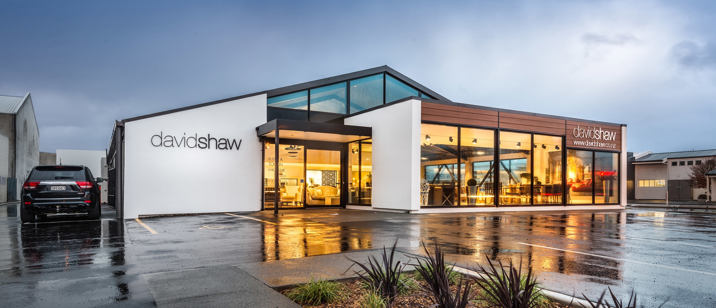 David Shaw Exterior - Commercial Design In Christchurch