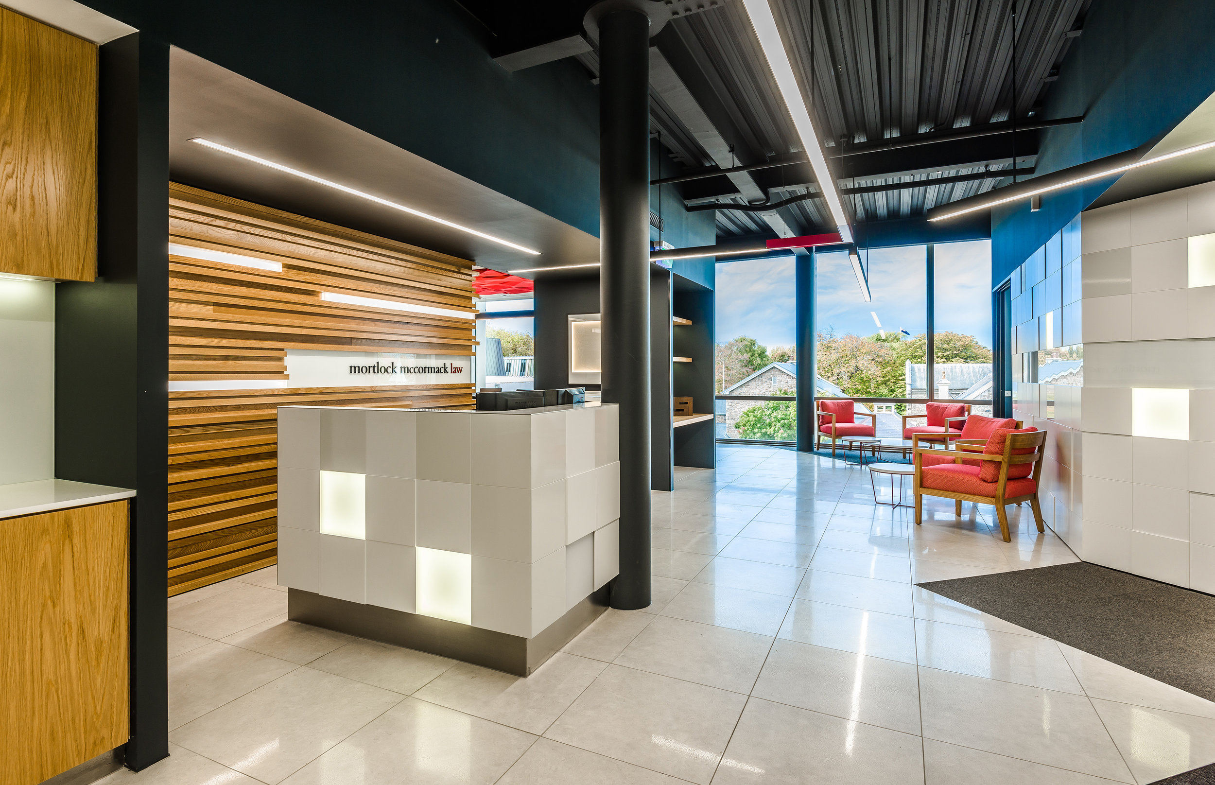 Commercial Interior Design - MML Interior Fitout Design in Christchurch
