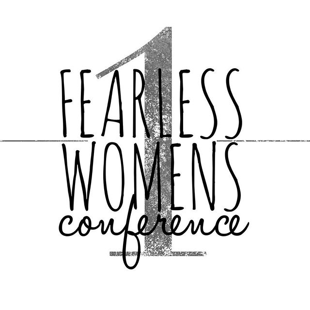 Ladies!! Only 1 more day until the #Fearless Women's Conference at @sagemont5! We are so excited to lift high the name of Jesus with you! Praying for you all.