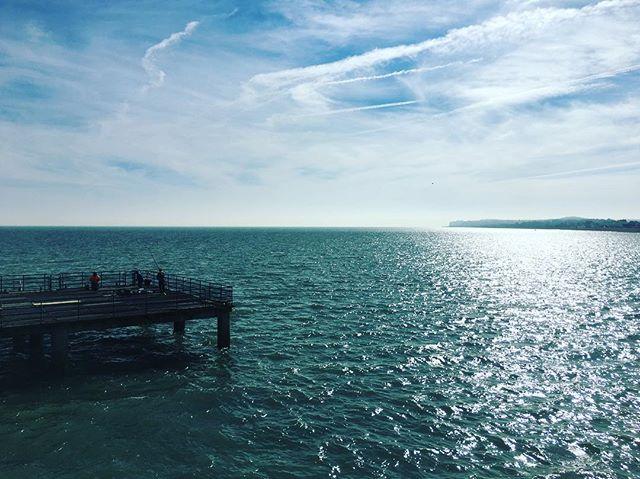 Sunshine on deal pier today! #deal #kent #seaside #pier