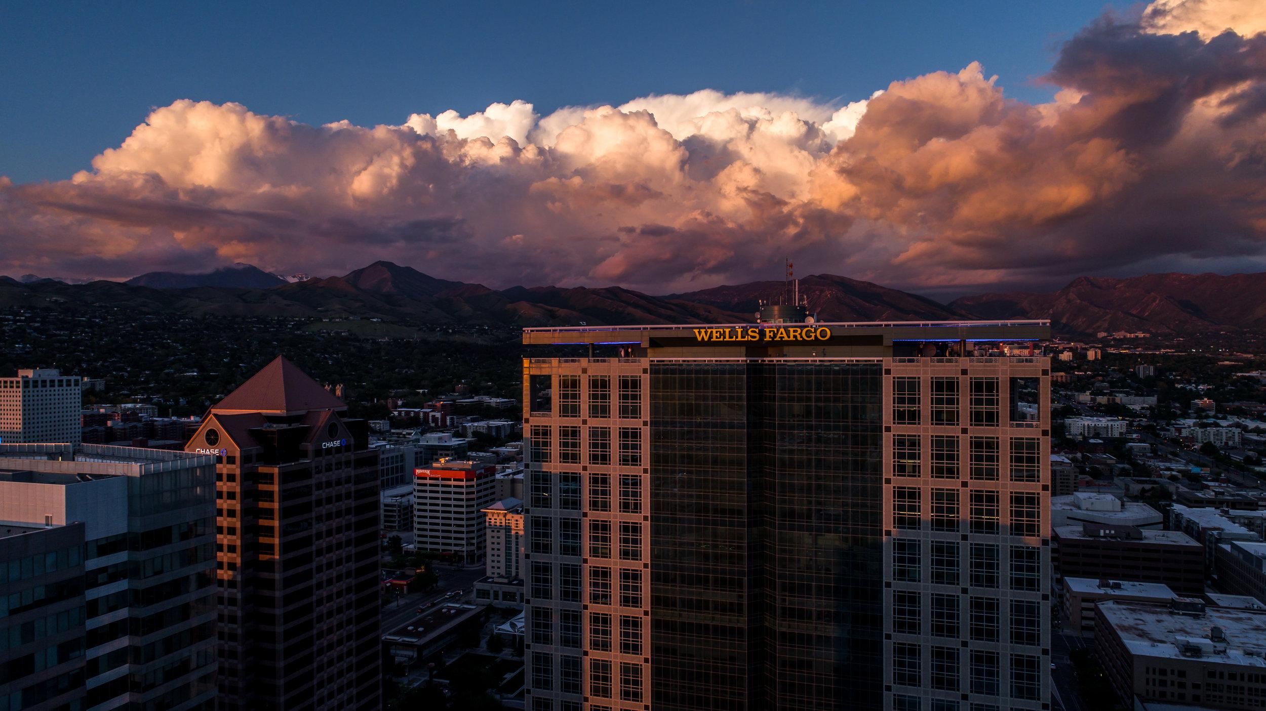 Salt Lake City Aerial Photo