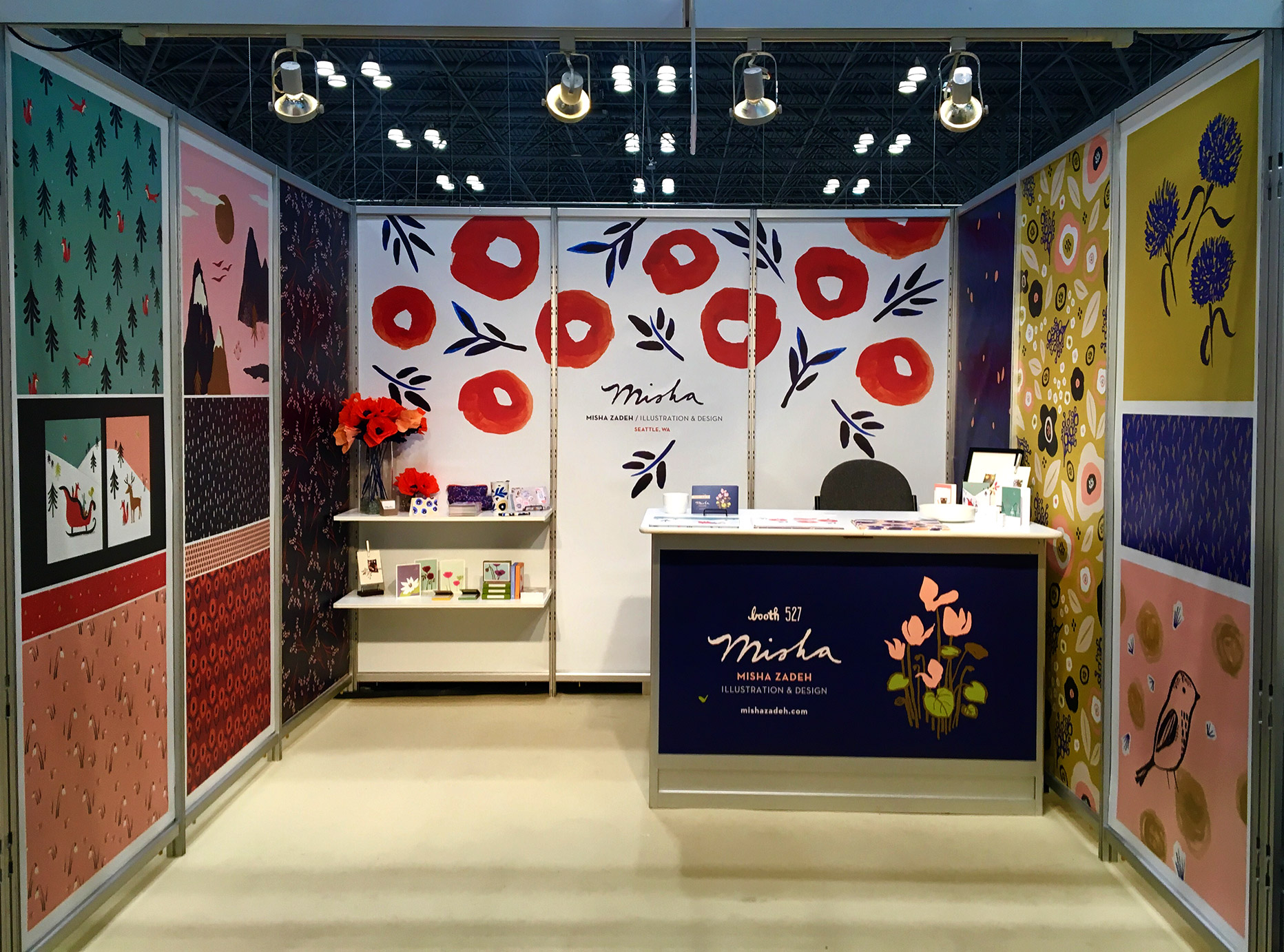 Misha Zadeh: SURTEX 2016: Booth 527, Full Booth