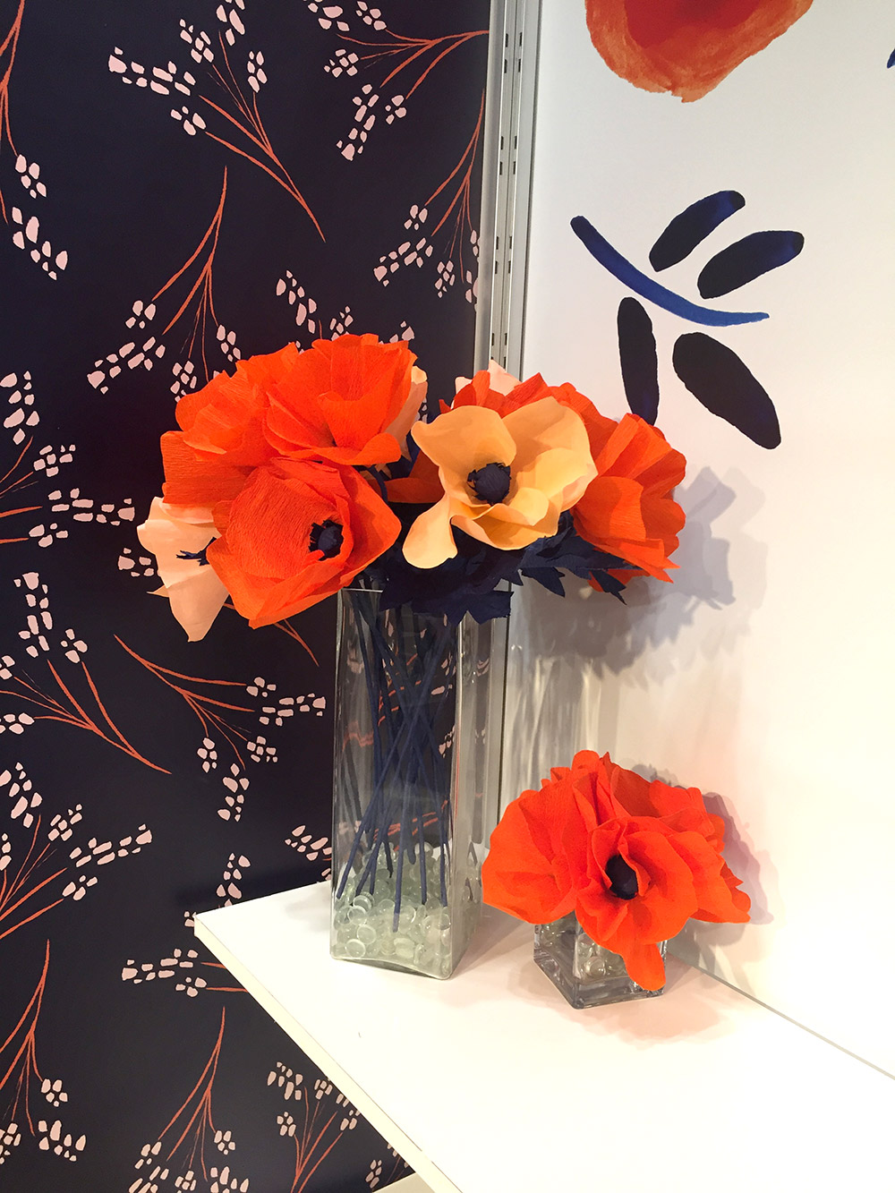 Misha Zadeh: SURTEX 2016: Paper Poppies