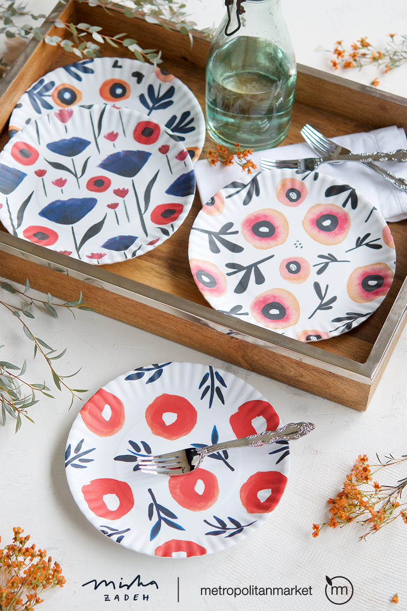 Artist Misha Zadeh Graham launches her housewares collection for manufacturer 180 Degrees.