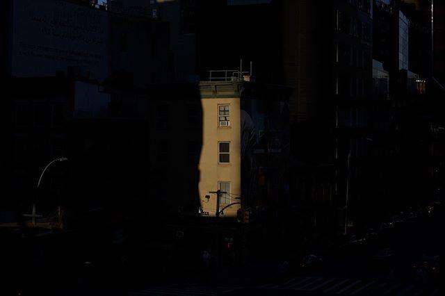 dusk on the high line