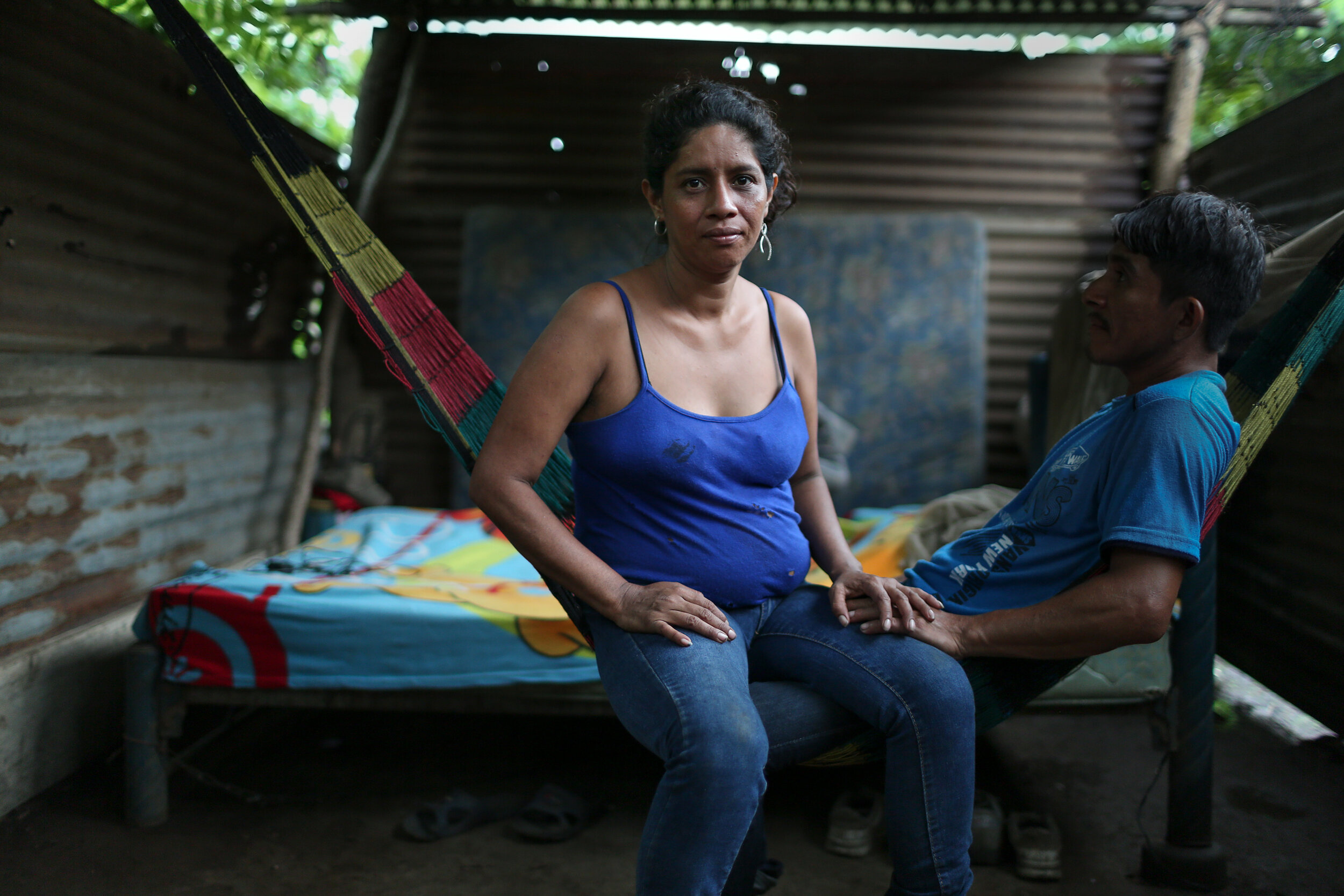 An ex-sex worker and her husband in Malacatán, Guatemala. 2017 for Intrahealth International HIV/AIDS treatment program.