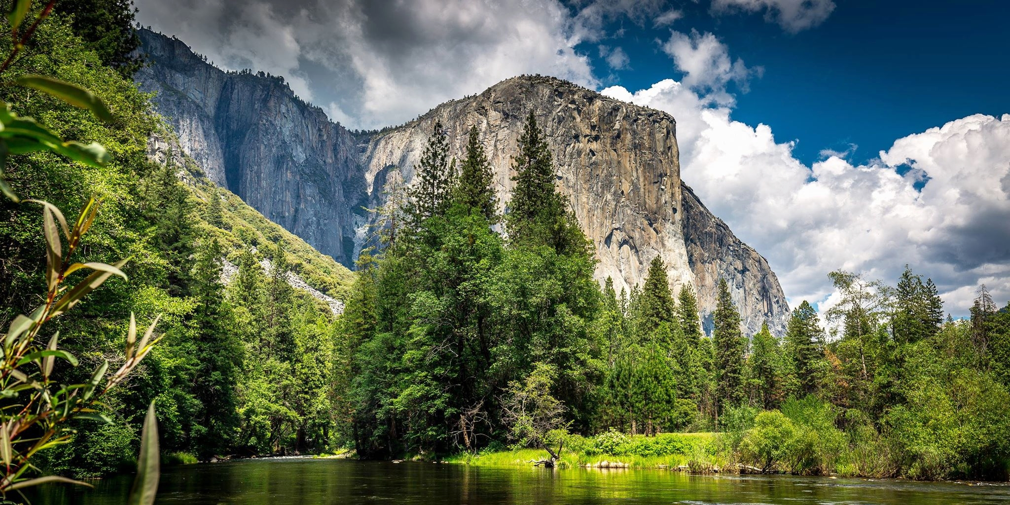 Yosemite National Park, Valley View Turnout