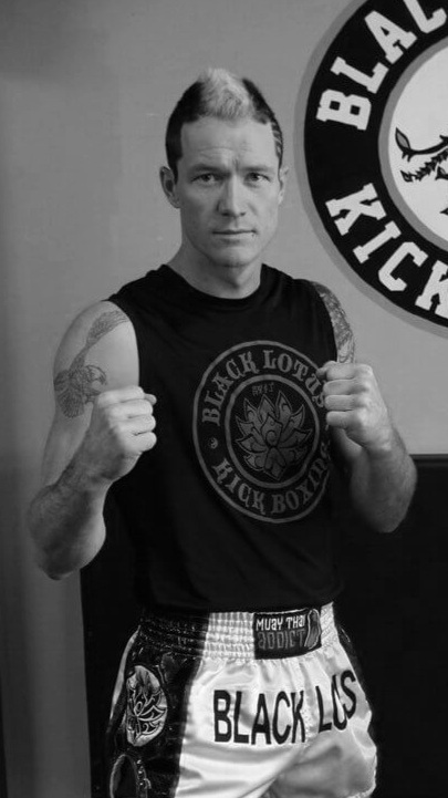 Kickboxing and Muay Thai instructor Sifu Nic Langman, Black Lotus Academy Founder