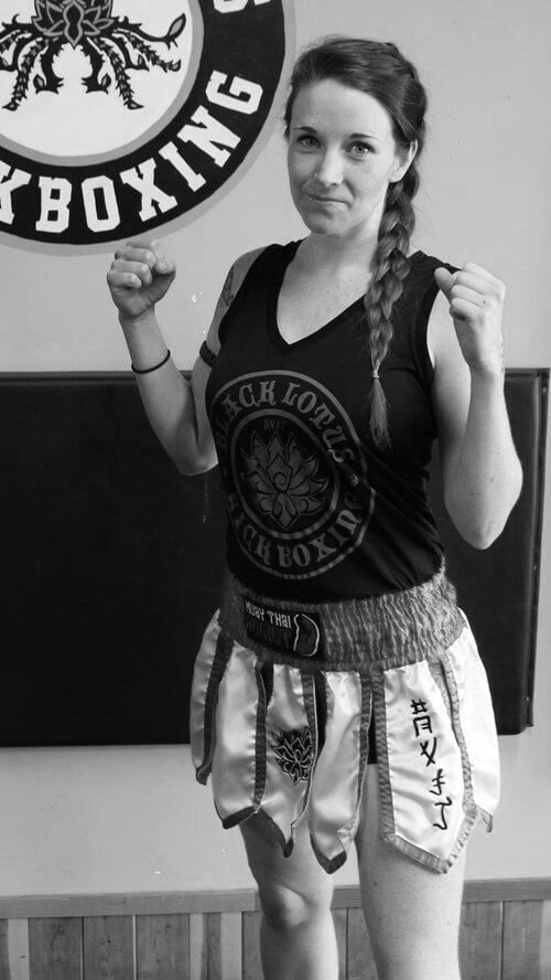 Jessica, Female kickboxing and Muay Thai instructor in Orillia