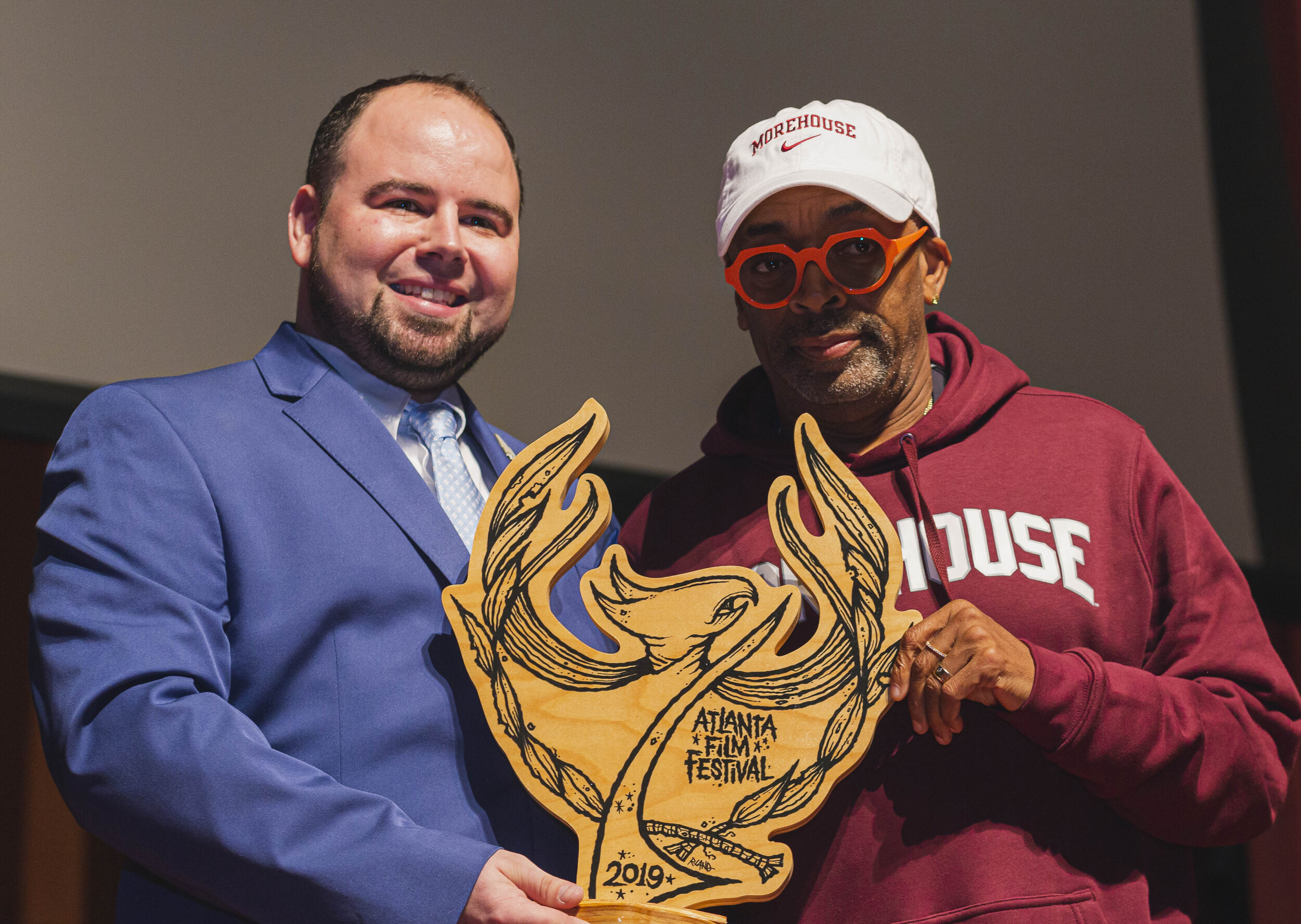 Christopher Escobar presents Spike Lee the Orginator Award 2 10.12.19.jpg