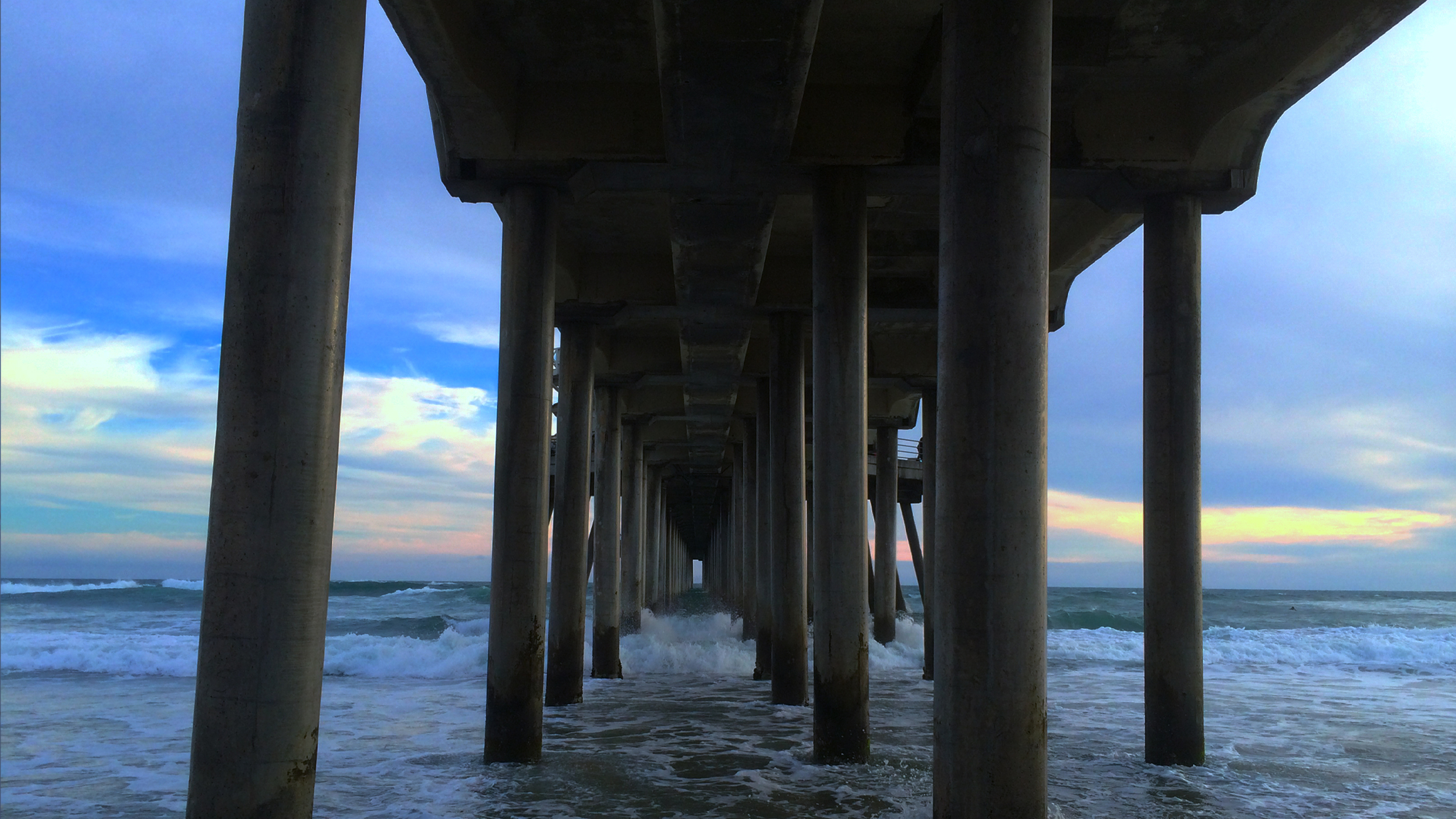 The Huntington Beach Pier