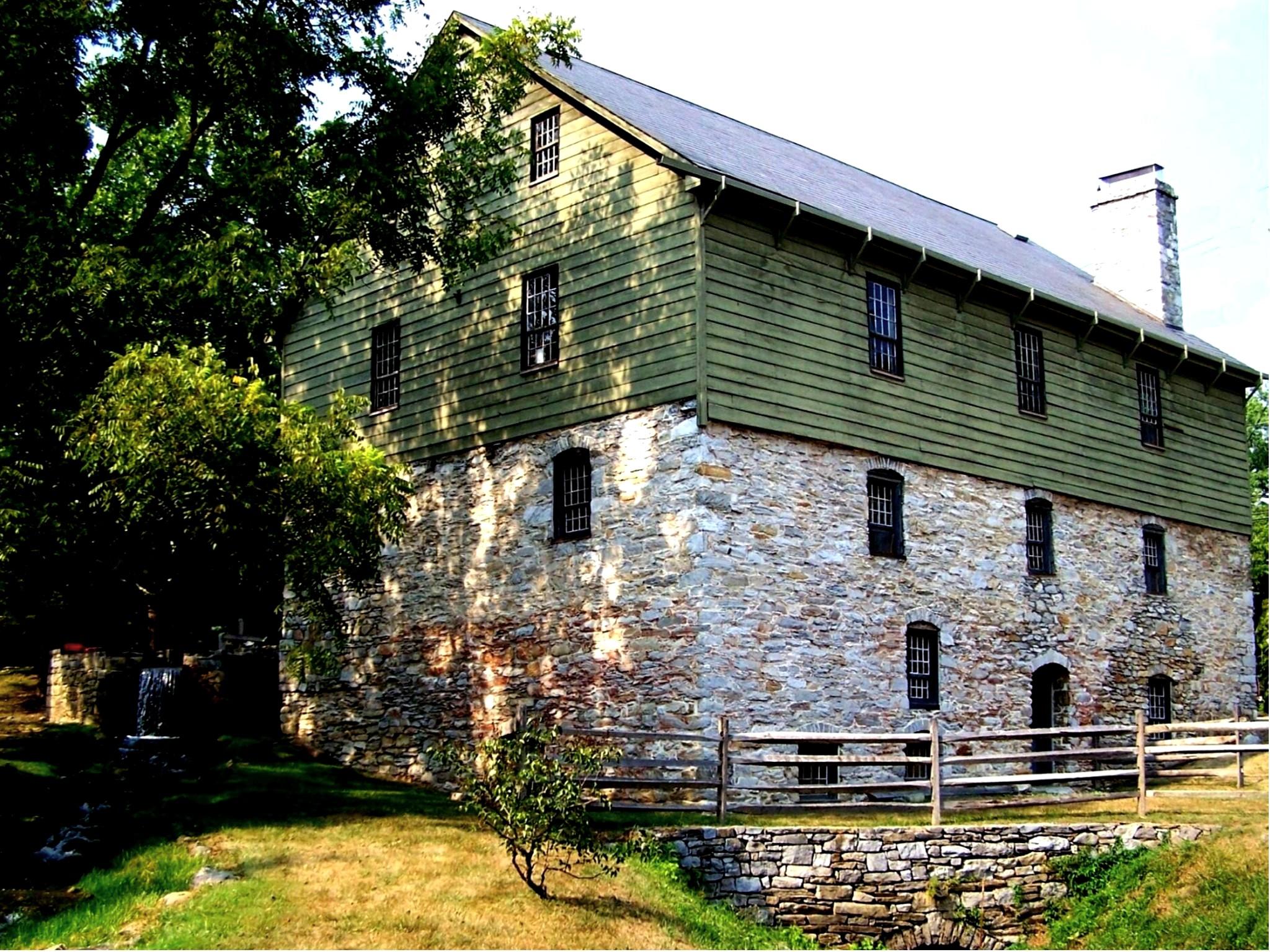 Burwell-Morgan Mill in Millwood