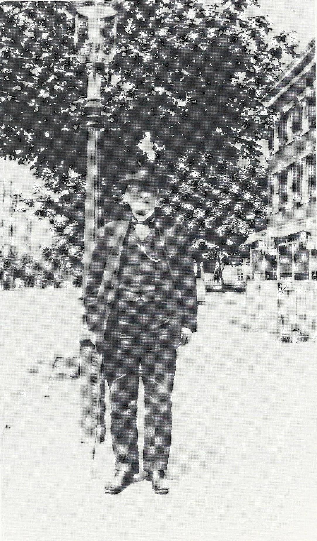Mosby, 1910 in Washington, D.C.