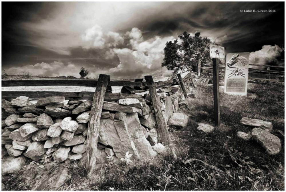 Battle of Aldie Cavalry Marker-Luke Greer photo.JPG