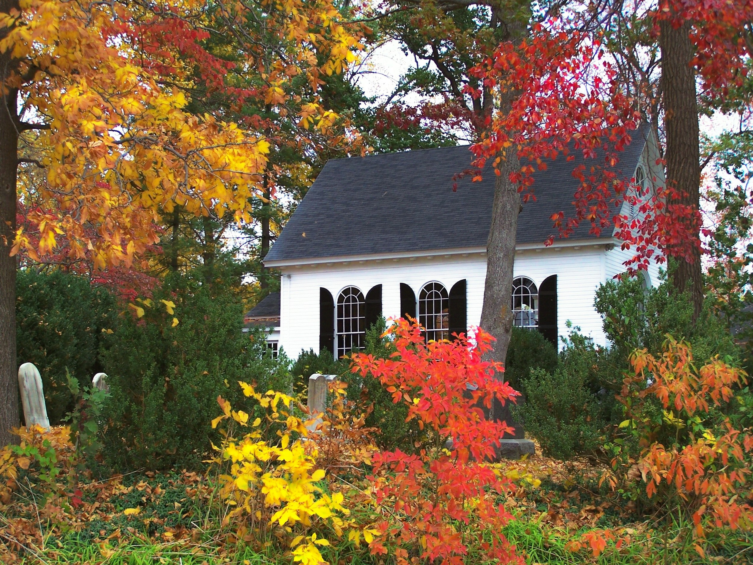 Emmanuel Episcopal Church, Marshall, Fauquier County.