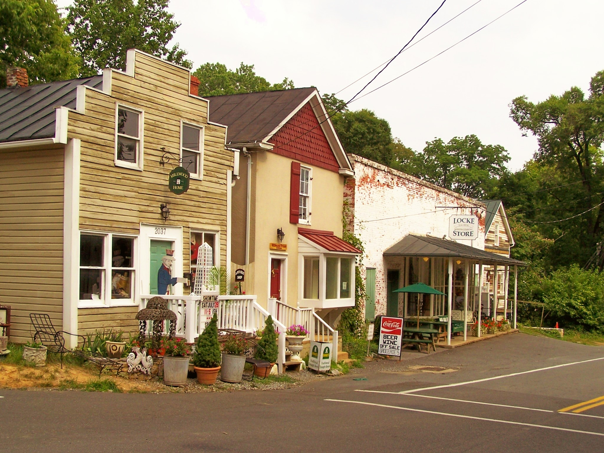 Downtown Millwood, Clarke County.