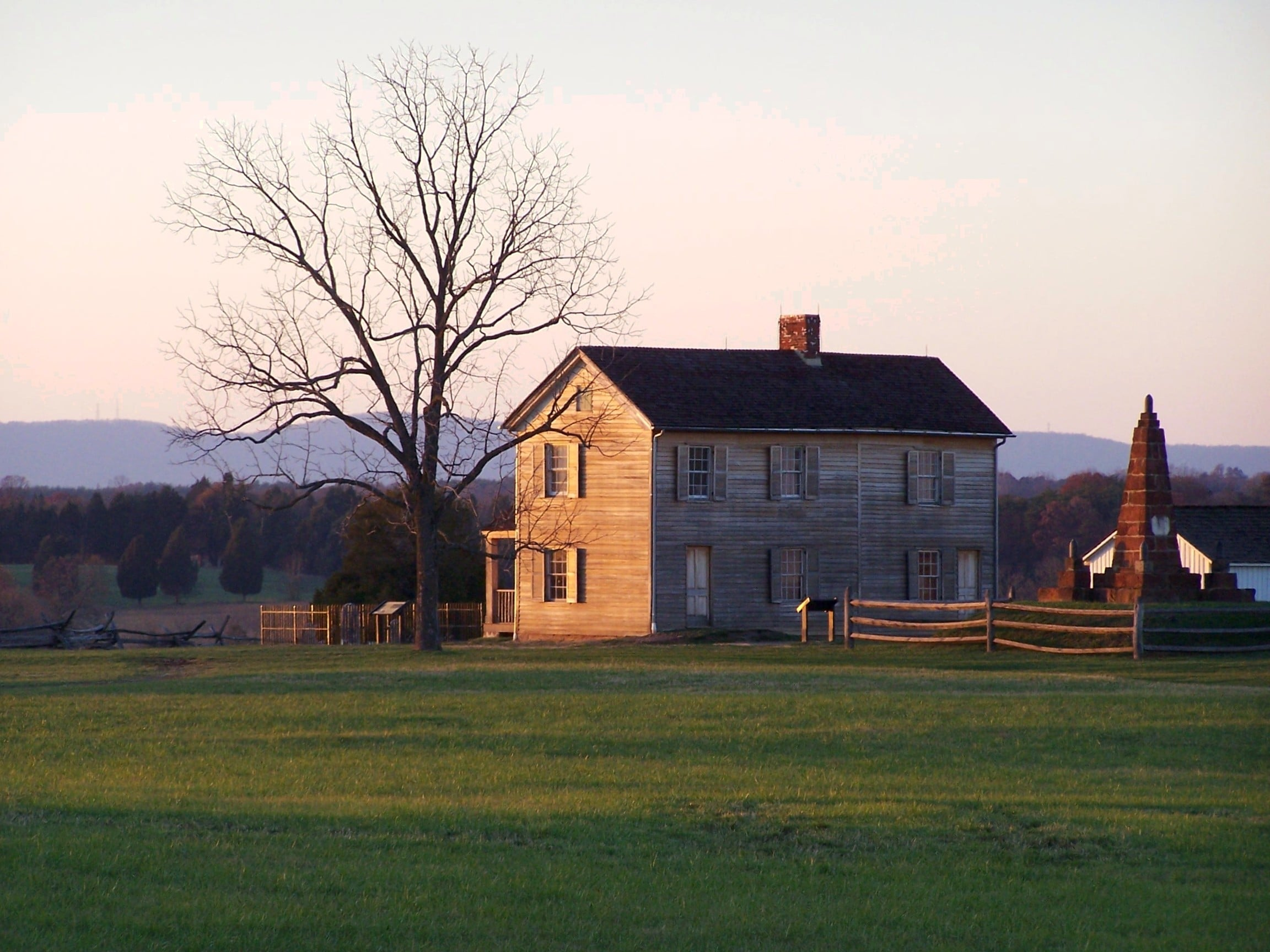 Judith Henry House, First Manassas Battlefield, Prince William County.