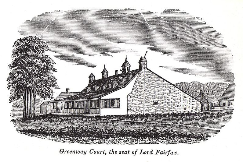 Greenway Court (from Howe, Historical Collections of Virginia, 1845).jpg