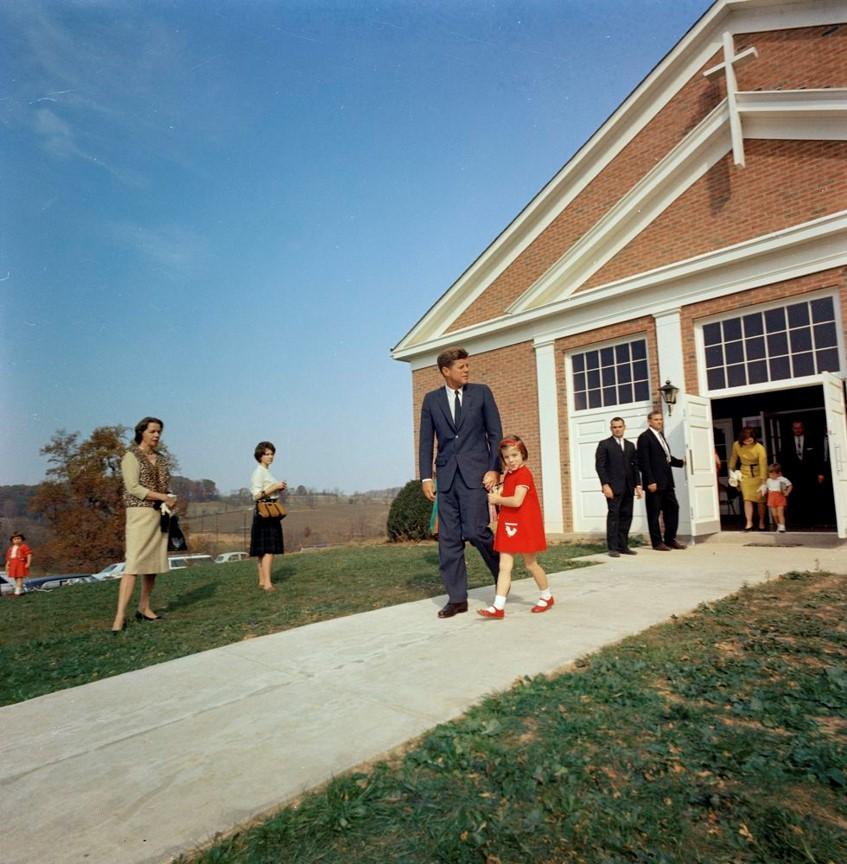 JFK at St. Stephen's Church in Middleburg.jpg