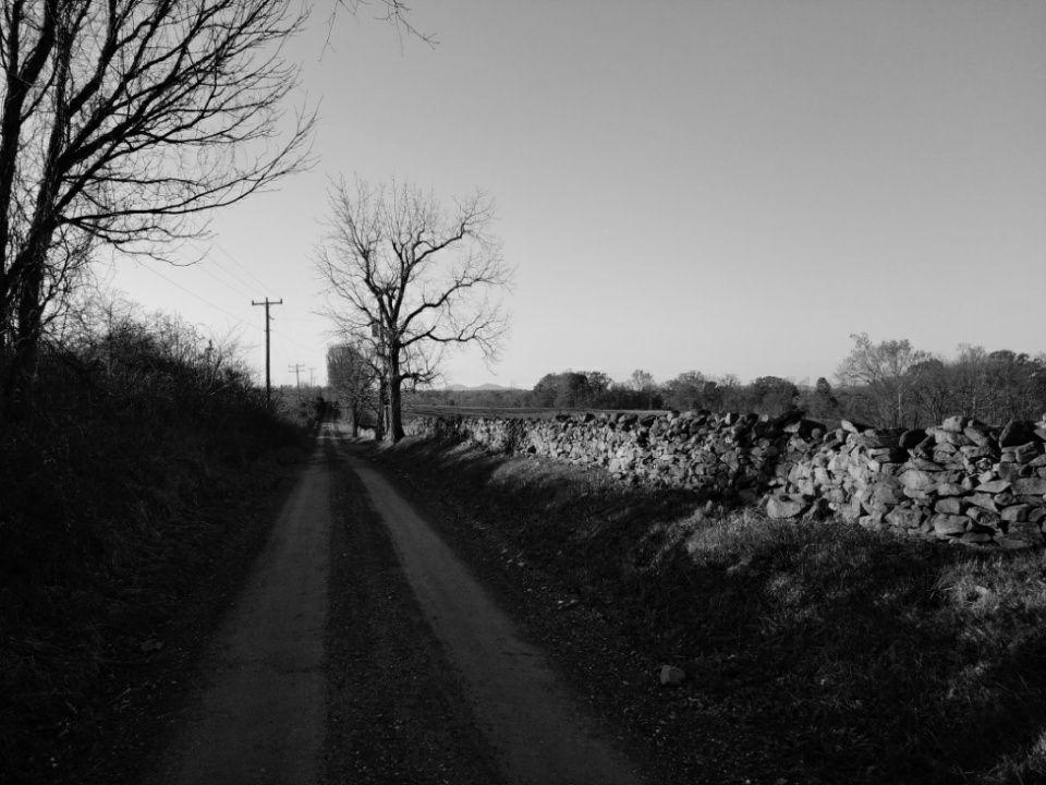 Historic Green Garden Road, near Upperville