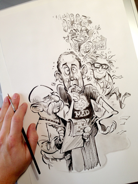 MAD Readers Poll -- drawn by Anton Emdin.   © E.C. Publications 2014.  All Rights Reserved.