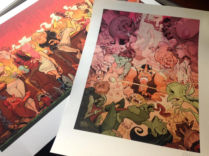 Prints! Illustration © Anton Emdin 2015.  All rights reserved.