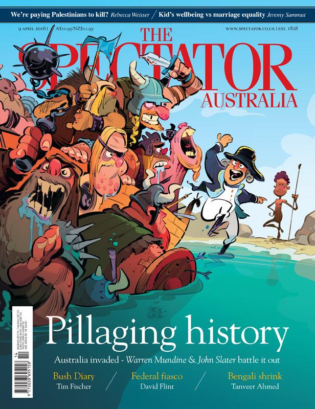 Invasion!  Cover art for The Spectator -- Illustration © Anton Emdin 2016.  All rights reserved.