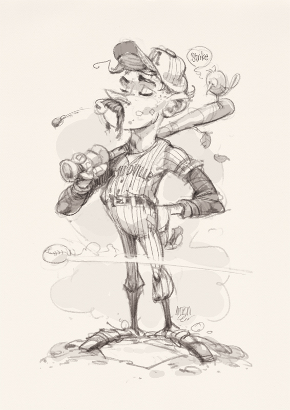 Casey-at-the-Bat_sketch