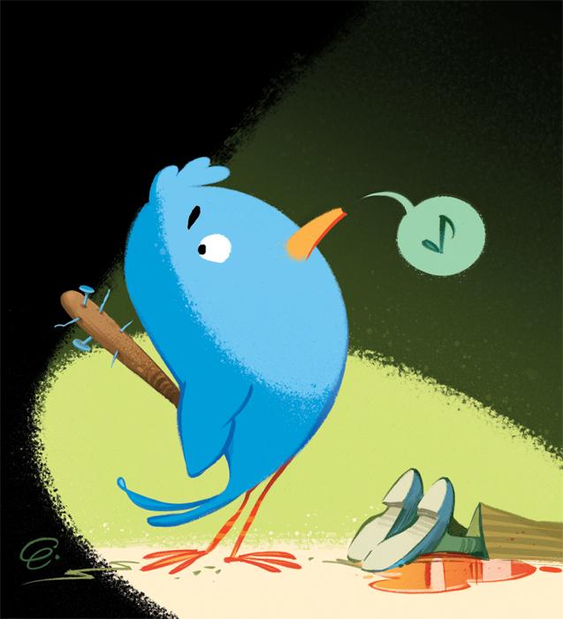 Twitter Bullies / Cover Art