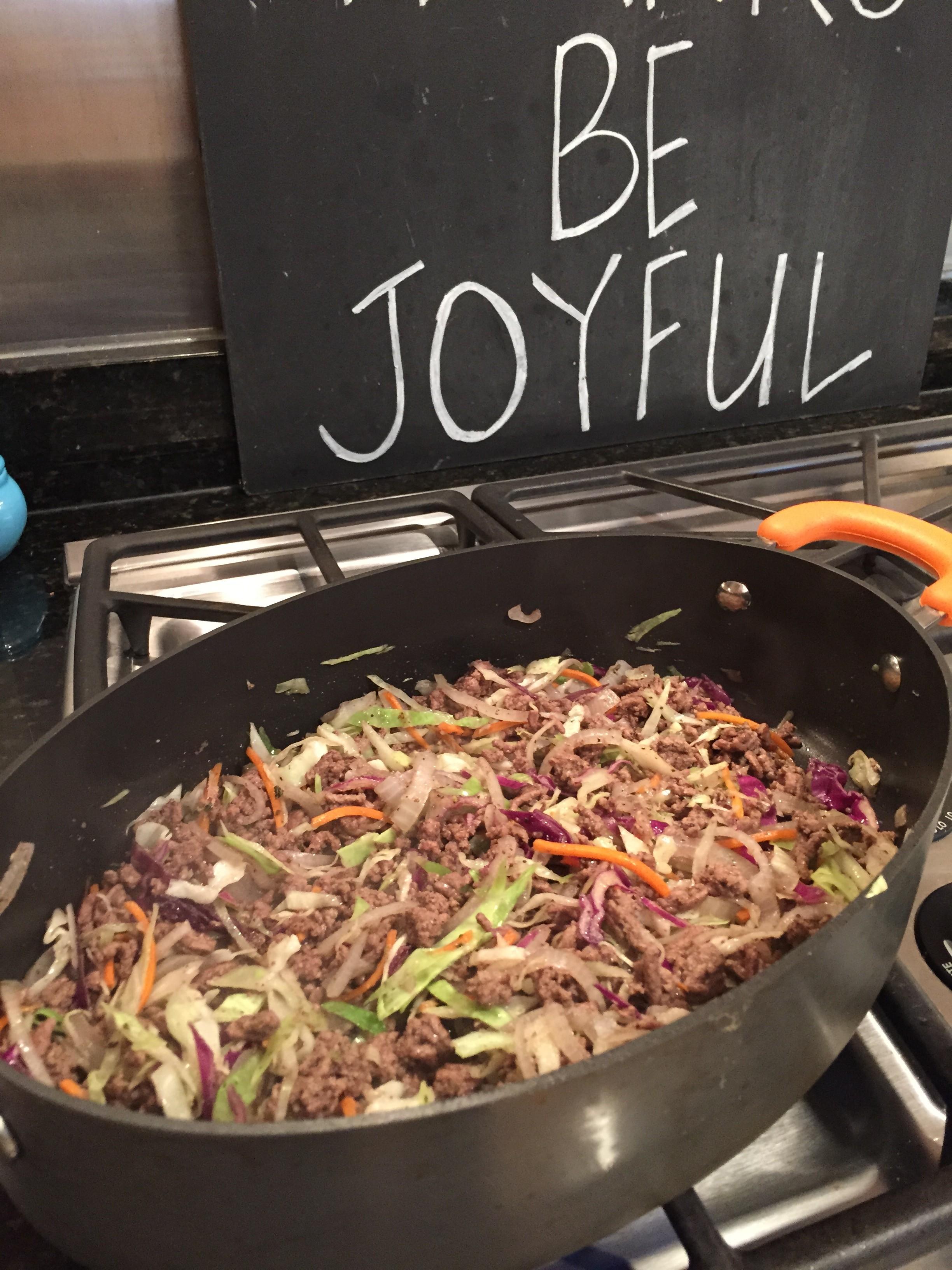 Beef & Cabbage Stir Fry
