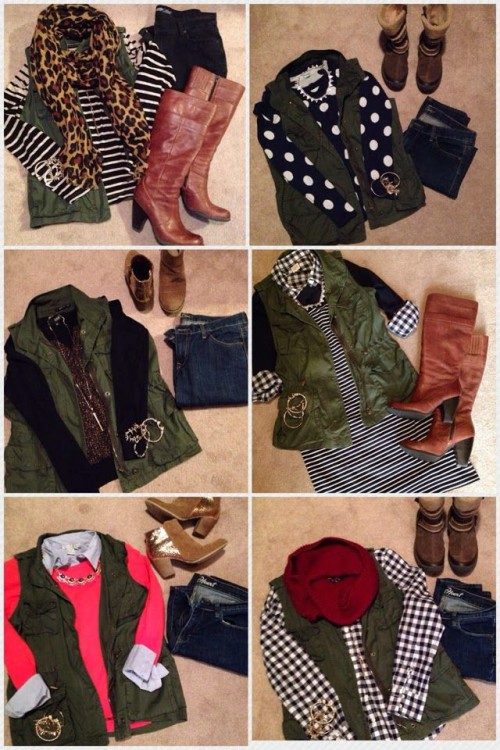 green vest ideas