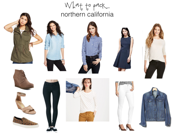 What to Pack: Northern California via SurvivngSarah