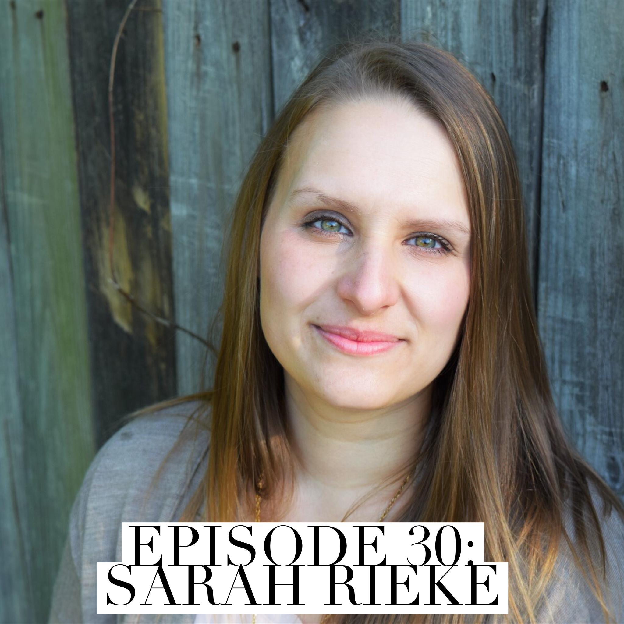 About Sarah » Sarah Rieke